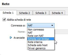 virtualbox rete interna come installare ubuntu su virtualbox