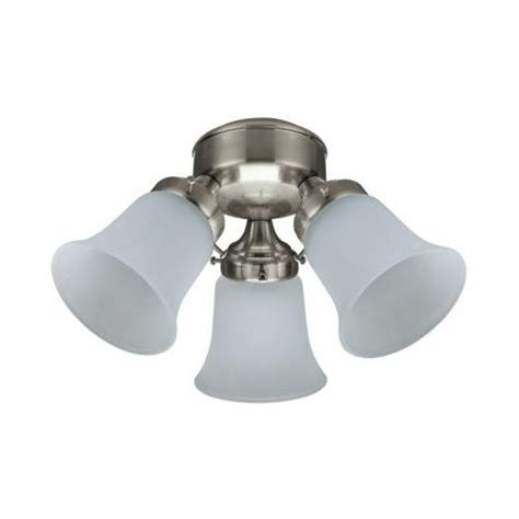 ceiling fan shades 3 shade light kit