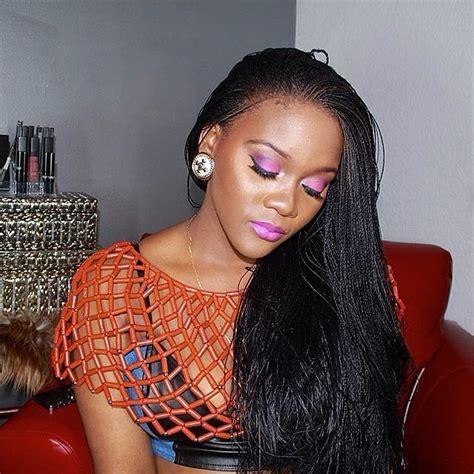 hair style of the week crochet braids kamdora hairstyle of the week million braids cotonou braids