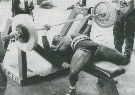 lamar gant bench press power profile lamar gant
