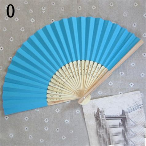 held paper fans wholesale folding held paper fans wedding decor