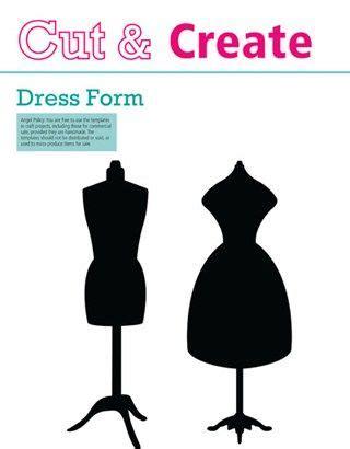 dress form template inspiredtomake dress form templates scrapbooking