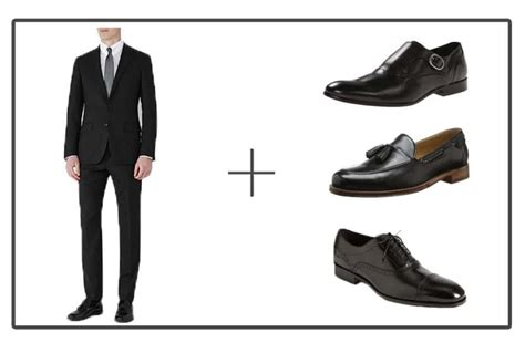 what color shoes to wear with a suit black suit blue