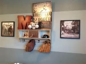 sports decor for room manny s baseball room shelf homegoods m and metal pic