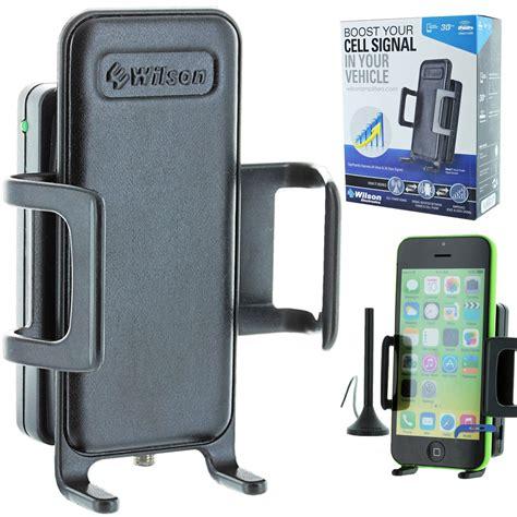 wilson 460106 sleek 3g car cradle cell phone signal booster antenna free headset ebay