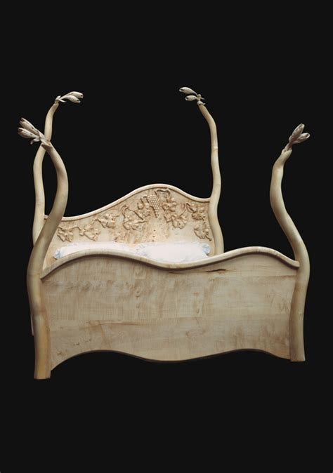 Handmade Bespoke Furniture - surreal wooden beds surreal sculptural furniture