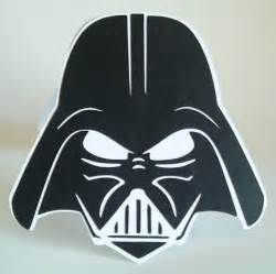 Darth Vader Helmet Template by Cricut Cardiologist Darth Vader Birthday Card