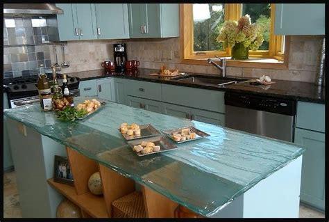 Bio Glass Countertops by Bio Glass In A Wavy Clear Countertop Sailboat Dreams