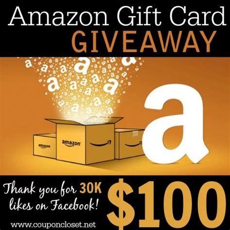 How To Enter An Amazon Gift Card - my giveaway to you enter to win 100 amazon gift card coupon closet