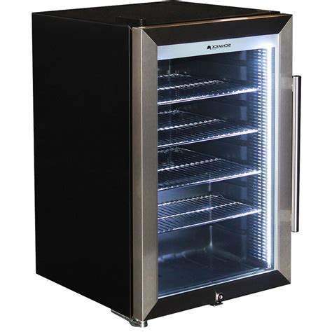 Mini Refrigerator With Glass Door Schmick Tropical Glass Door Mini Bar Fridge 70 Litre