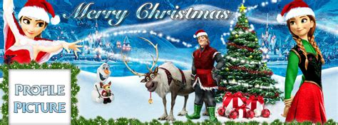 wallpaper navidad frozen facebook cover frozen merry christmas by muehlich86 on