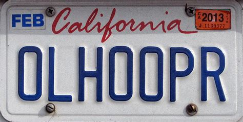 Vanity Plates California by California 2 Y2k