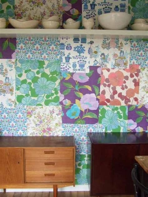 Patchwork Wall - 35 cool ideas to decorate your home with patchwork walls