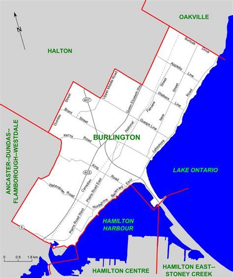 burlington map file burlington map png