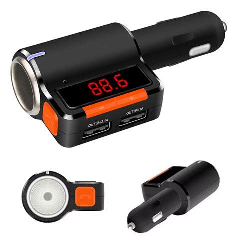Car Fm Modulator Chajer 1 aliexpress buy wireless car fm transmitter cigarette lighter led digital dual usb charger