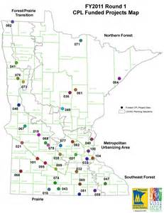 Minnesota State Park Map by 2011 Funded Projects Map Minnesota Dnr