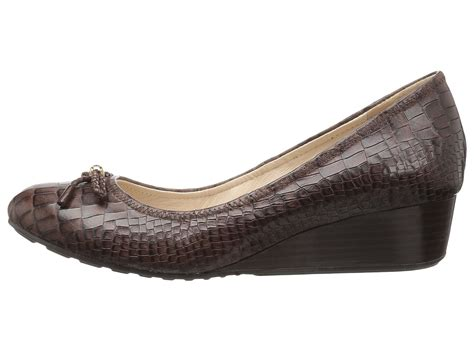 Wedges Mr90 Crocodile 64 cole haan tali grand lace wedge 40 chestnut croc print zappos free shipping both ways