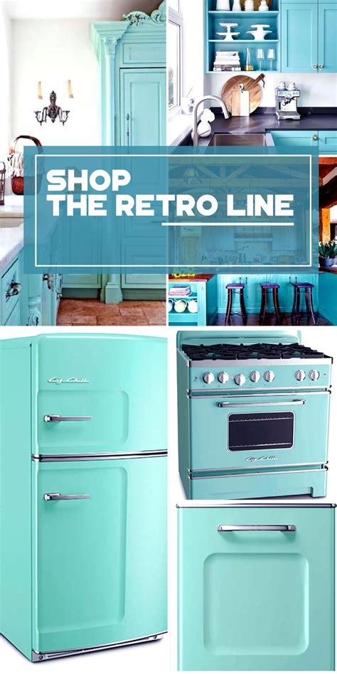 turquoise kitchen appliances the retro kitchen appliance product line click colors