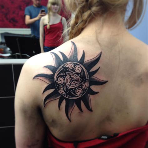 three stars and a sun tattoo designs 95 best sun designs meanings symbol of the