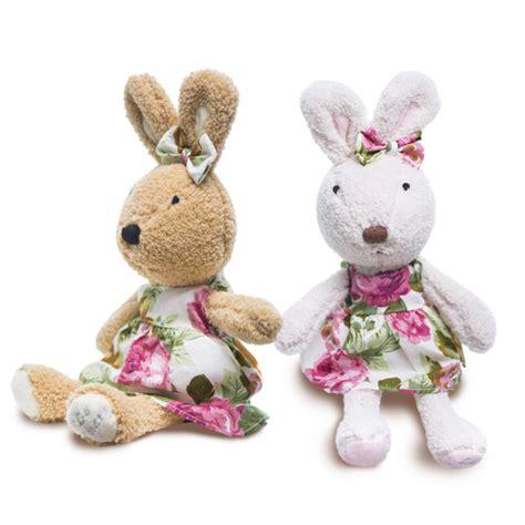 Le Sucre Plush Doll Big 50cm le sucre wearing dress 30cm kawaii rabbit plush toys bunny
