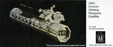 Home Planes 2001 German Orbiting Weapons Satellite By Aja Models