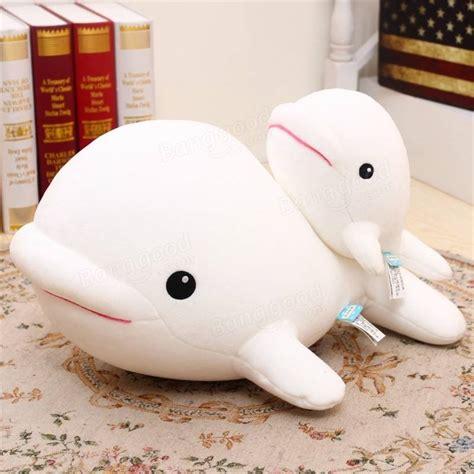 dolls animals 1pcs beluga white whale soft animal doll ornament