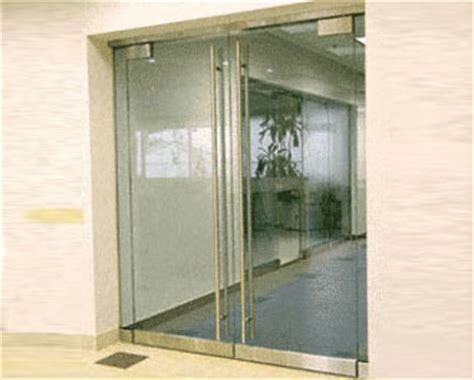 exterior frameless glass doors glass doors orange county ca aluminum frame