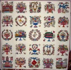 baltimore album quilt history