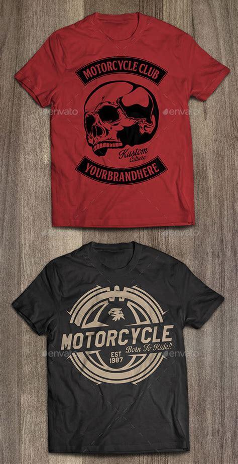 7 Biker Shirt Psd Images Honda Motorcycle Logo Biker T Shirt Vectors And Graphic T Shirts Awesome T Shirt Design Templates