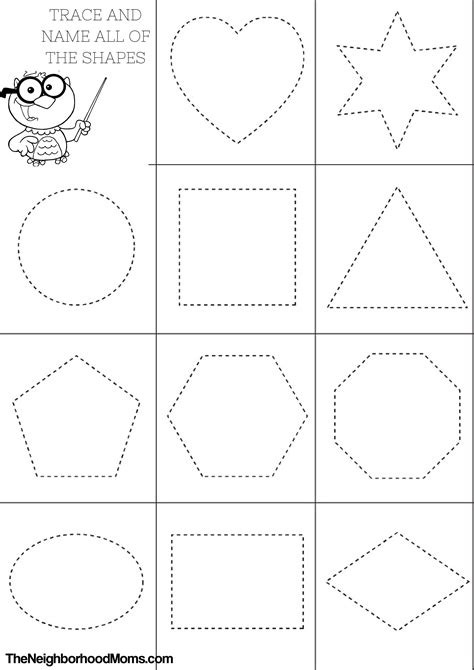 printable coloring pages shapes shapes coloring pages printable the neighborhood