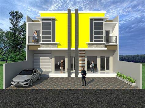 desain depan rumah lebar 8 meter 68 desain rumah minimalis 2 lantai lebar 6 meter