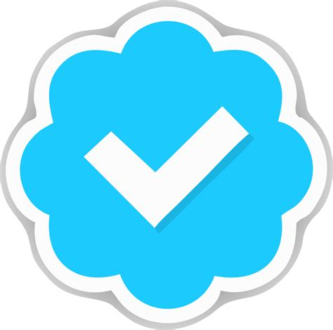 membuat twitter verified twitter quot verified account quot icon vector and png avaiable