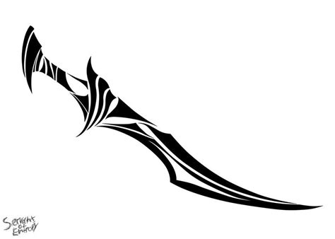 tribal sword tattoo cool tribal drawing keres 233 s drawing