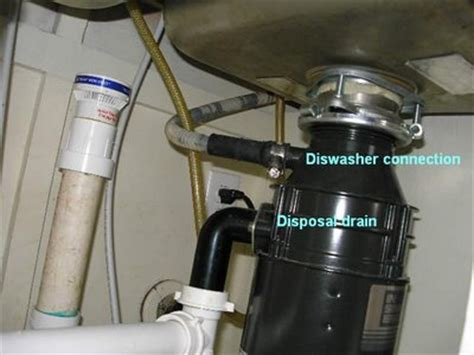 kitchen sink garbage disposal installation pertaining to