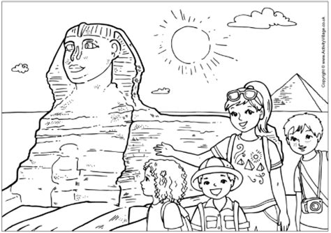 Sphinx Coloring Page Sketch Sphynx Of Egypt Coloring Pages by Sphinx Coloring Page