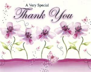 thanks you to