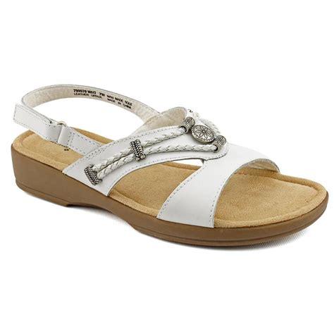 minetonka sandals minnetonka silvie sling back open toe leather slingback