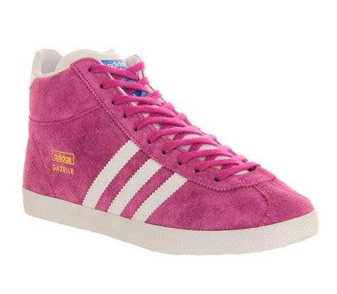 adidas gazelle pink adidas gazelle og mid in pink lyst
