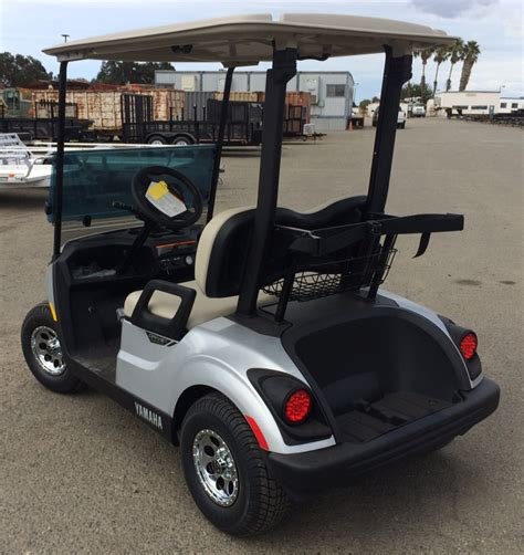 2018 yamaha golf cart 2018 yamaha electric golf cart metallic silver johnson