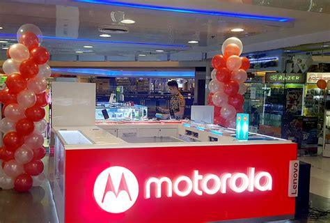 discord kiosk motorola opens experience kiosks in cebu and davao