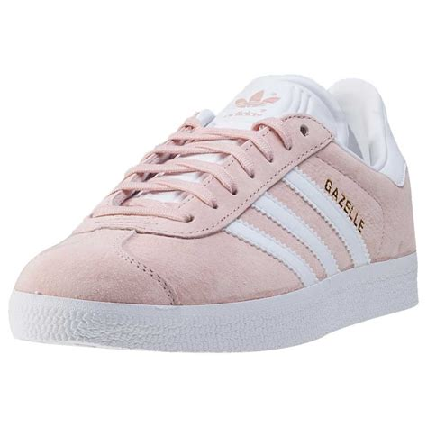 adidas gazelle womens trainers blush pink new shoes