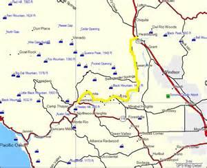 guerneville california map california map