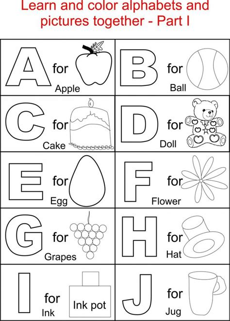 printable abc activities for 3 year olds abc printables kiddo shelter
