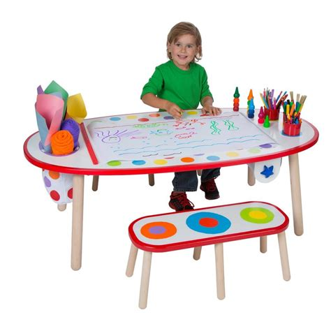 alex toys artist studio super art table with paper roll alex toys artist studio super art table rainbow dots