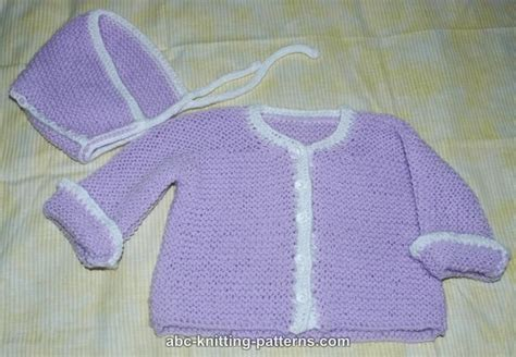 simple baby jumper knitting pattern abc knitting patterns easy garter stitch baby cardigan