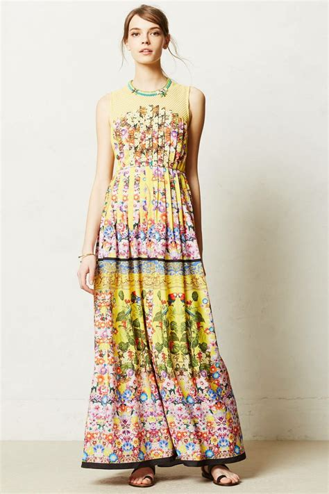 Anthropologie Summer Dress by Lore Maxi Dress Anthropologie Style