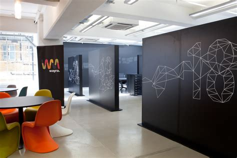 Startup Office Decor by Wayra S Startup Accelerator Offices Quanto