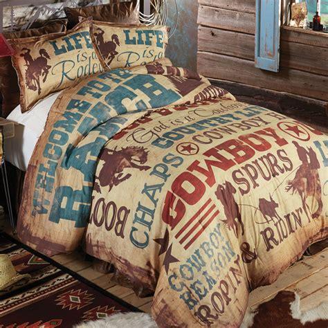 Cowboy Lifestyle Comforter King Cowboy Bedding