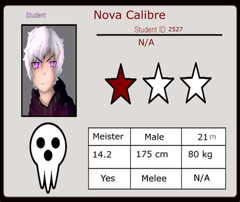 anime id soul eater soul eater oc student id calibre by cryshads on