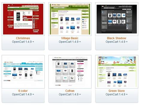 opencart free templates 187 scriptmafia org download full